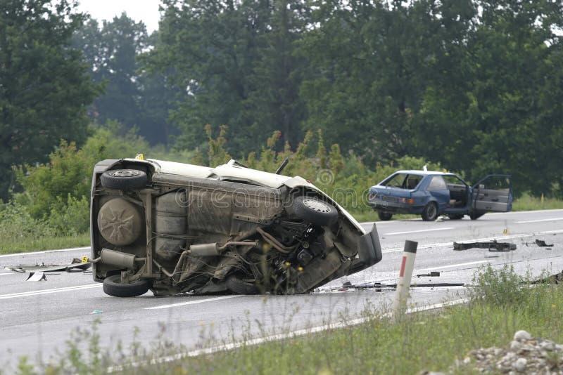 1 авария стоковая фотография rf
