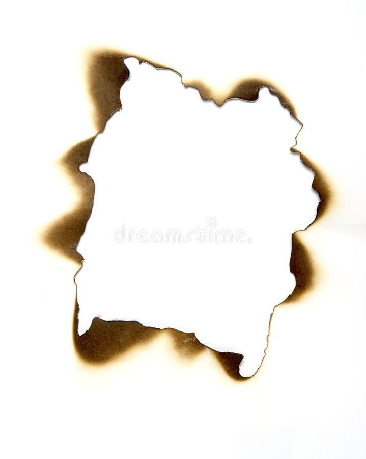 1 бумага ожога стоковое фото