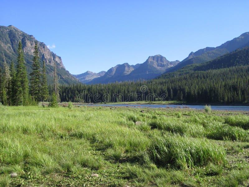1 взгляд резервуара mtn hyalite стоковое фото rf