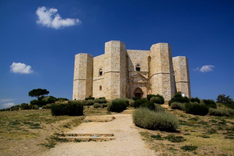 1 взгляд castel del monte n стоковое фото