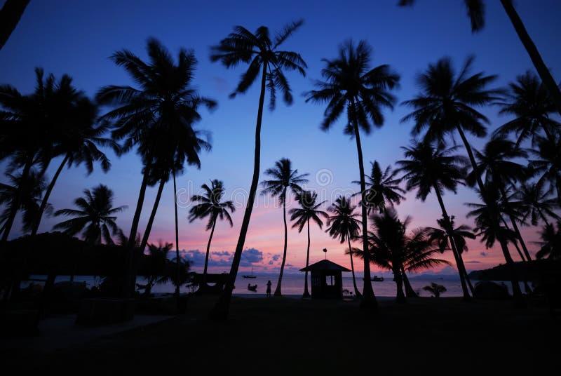 1 восход солнца mu ko острова angthong стоковые изображения rf
