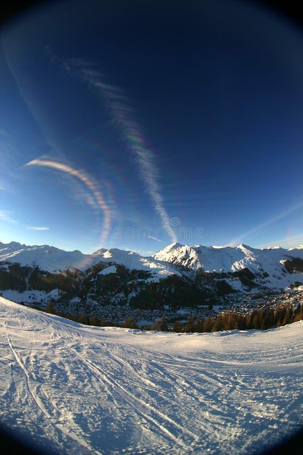 Download 1 высокогорный заход солнца Стоковое Изображение - изображение насчитывающей льдед, подъем: 477979