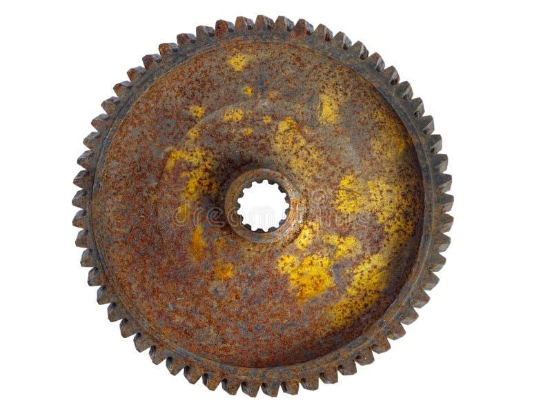 1 выщербленное ржавое колесо стоковые фотографии rf