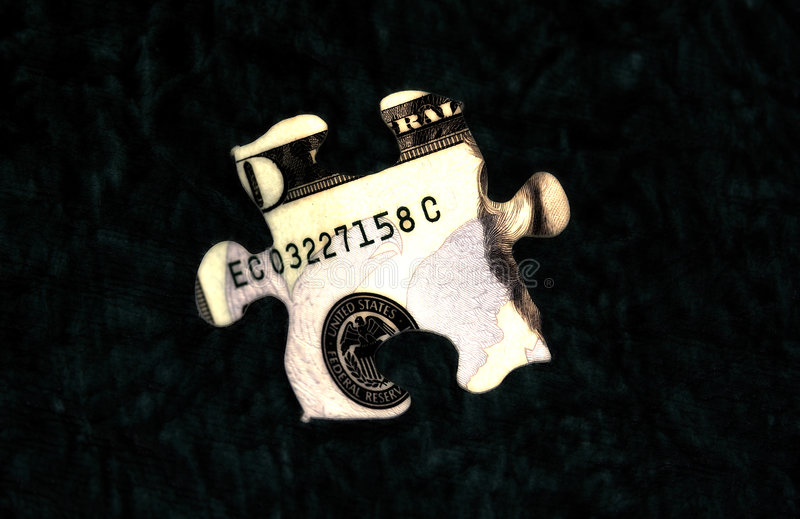 1 головоломка дег стоковое фото