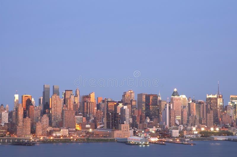 1 горизонт nyc стоковые фотографии rf