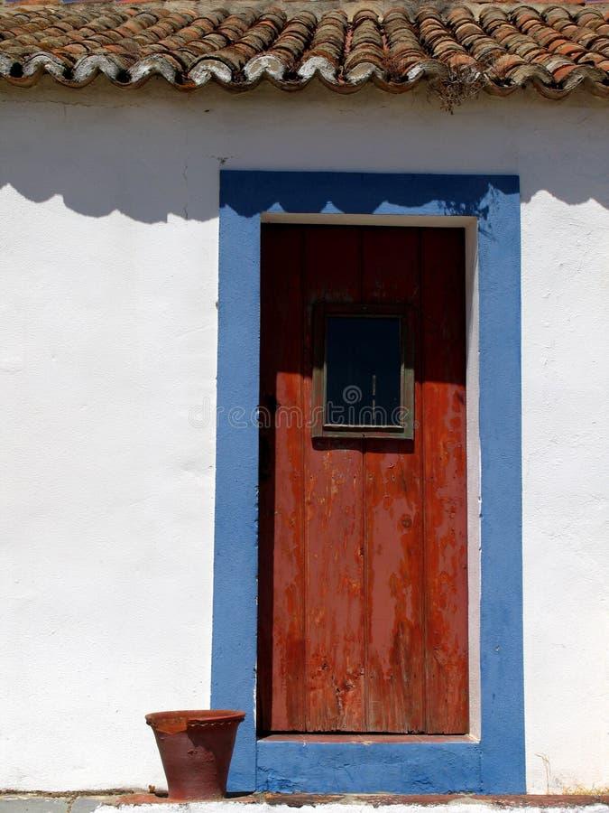 1 дверь старая стоковые фотографии rf