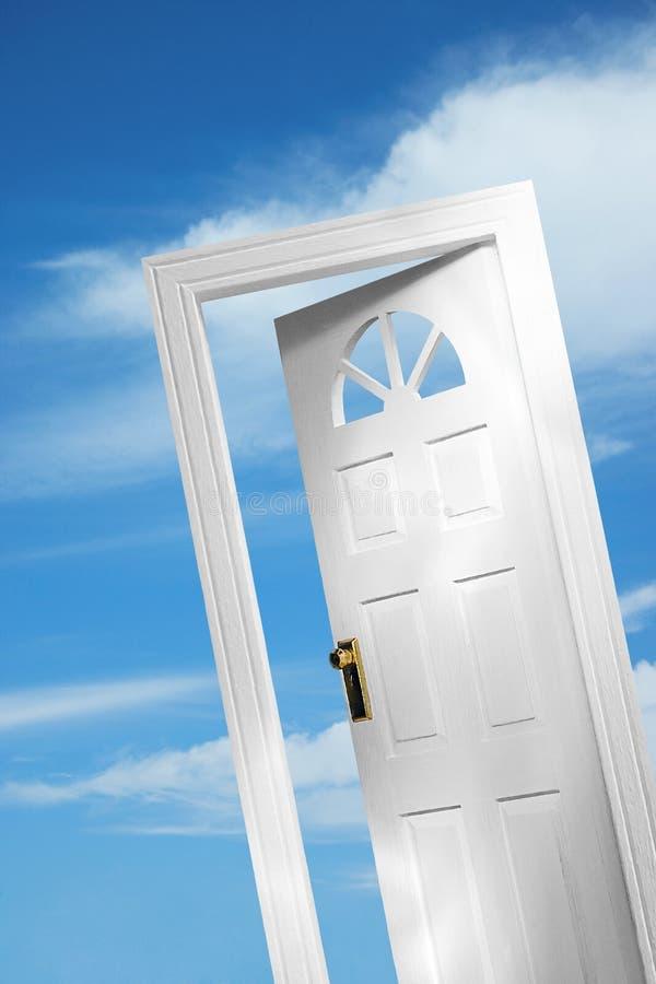 1 дверь 5 иллюстрация штока
