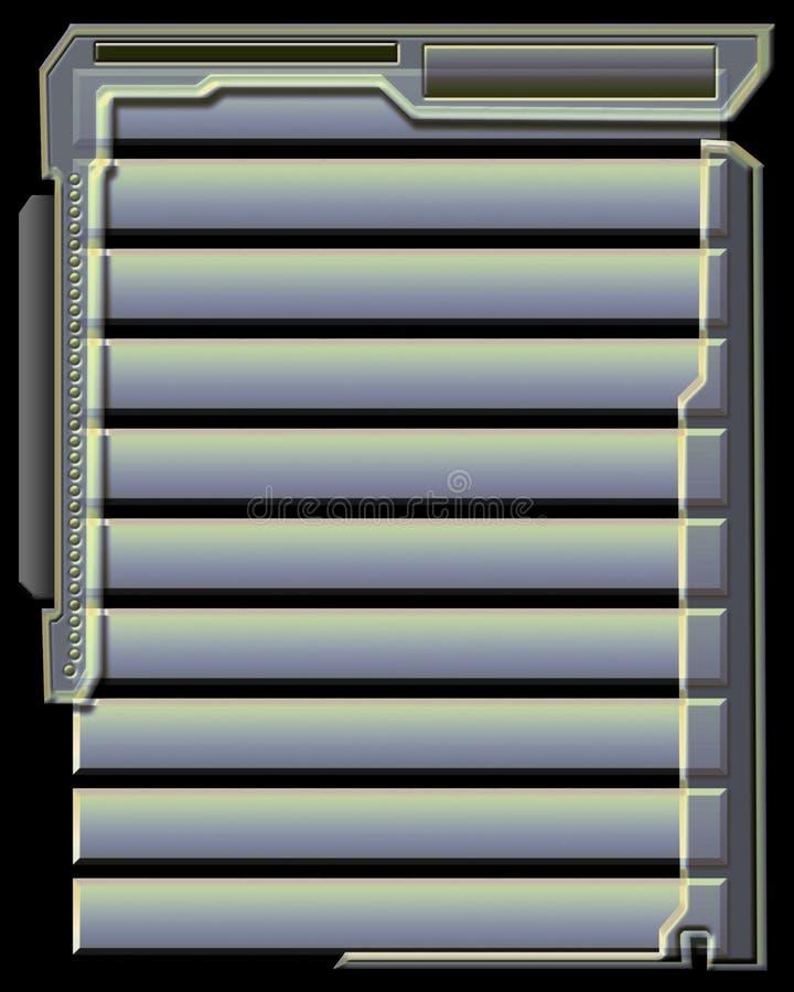Download 1 интерфейс иллюстрация штока. иллюстрации насчитывающей конструкция - 80338