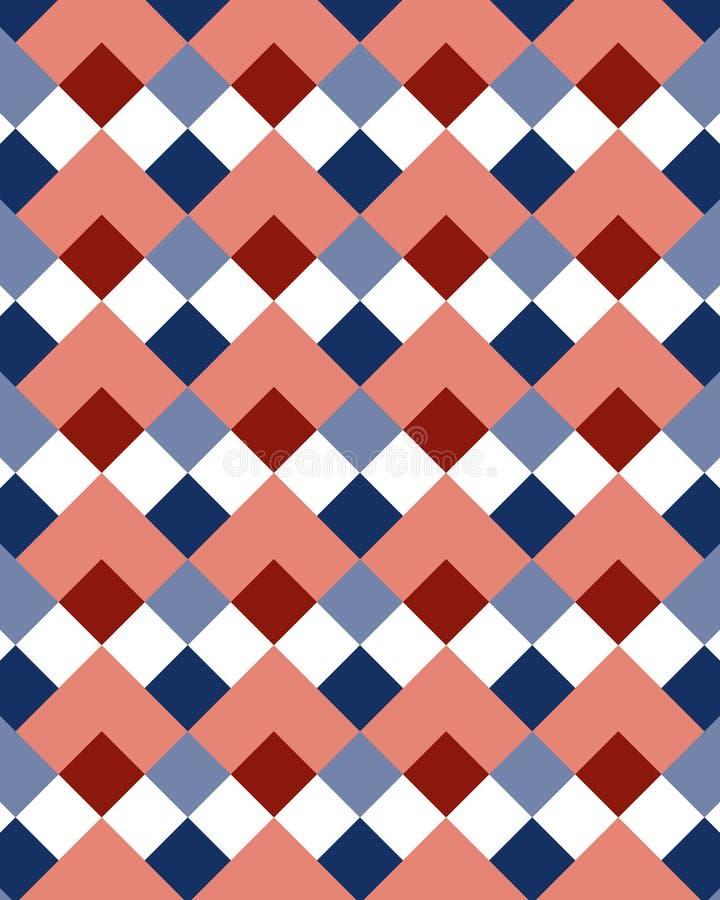 1 косоугольник картины иллюстрация вектора