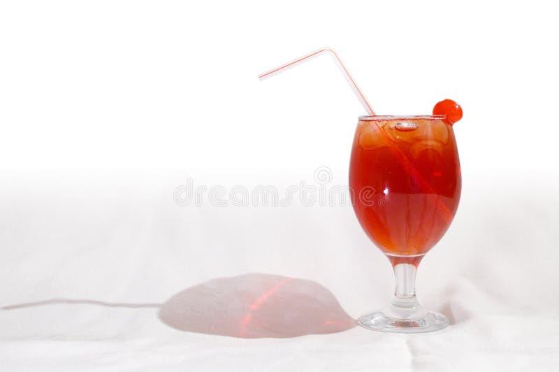 1 красный цвет коктеила стоковая фотография