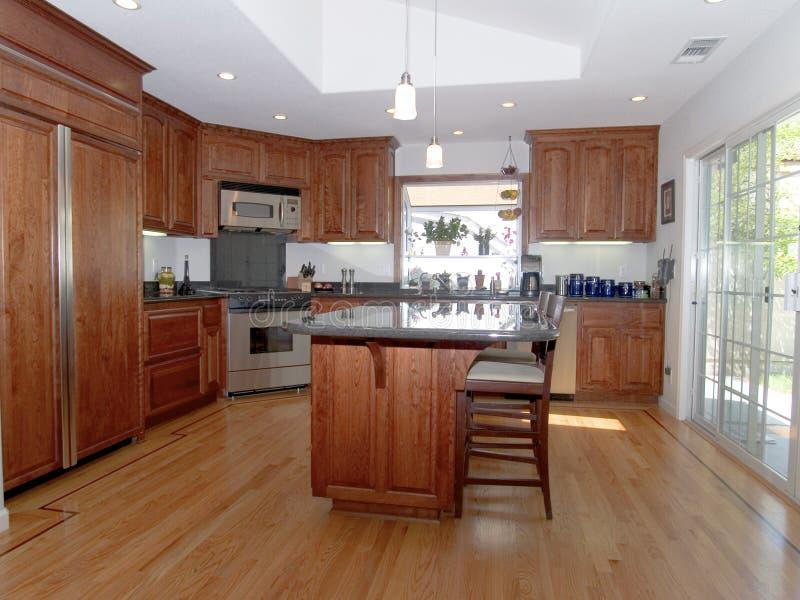 1 кухня самомоднейшая стоковые изображения rf