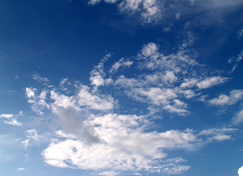 1 небо стоковое изображение