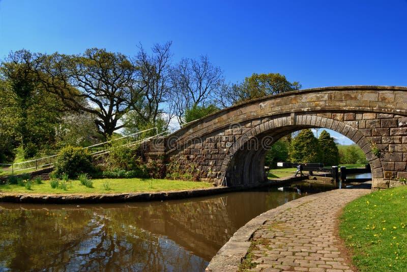 1 нет lancaster канала моста стоковые изображения