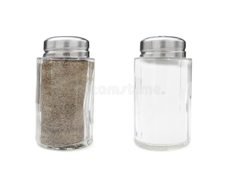 1 новое соль перца стоковая фотография rf