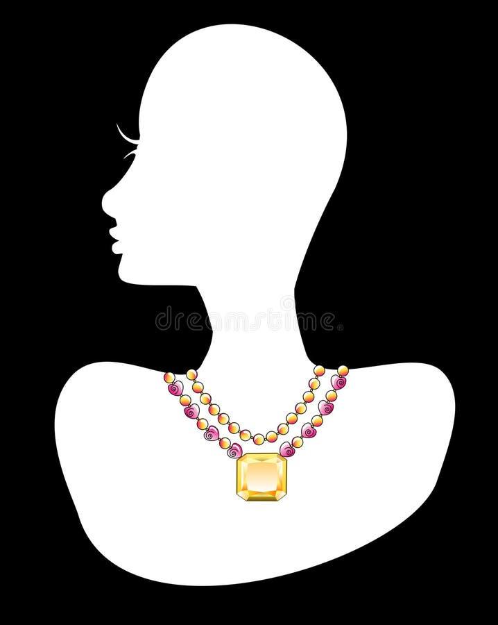 1 ожерелье бесплатная иллюстрация