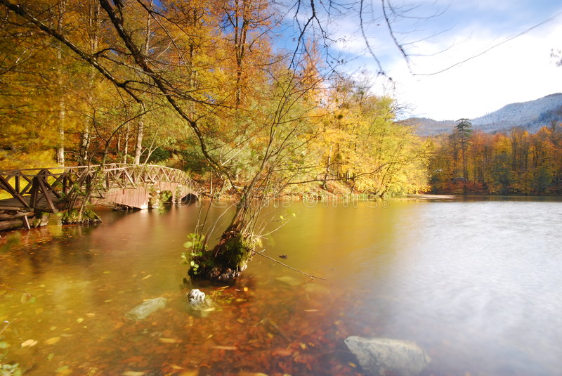 1 озера 7 стоковое фото rf