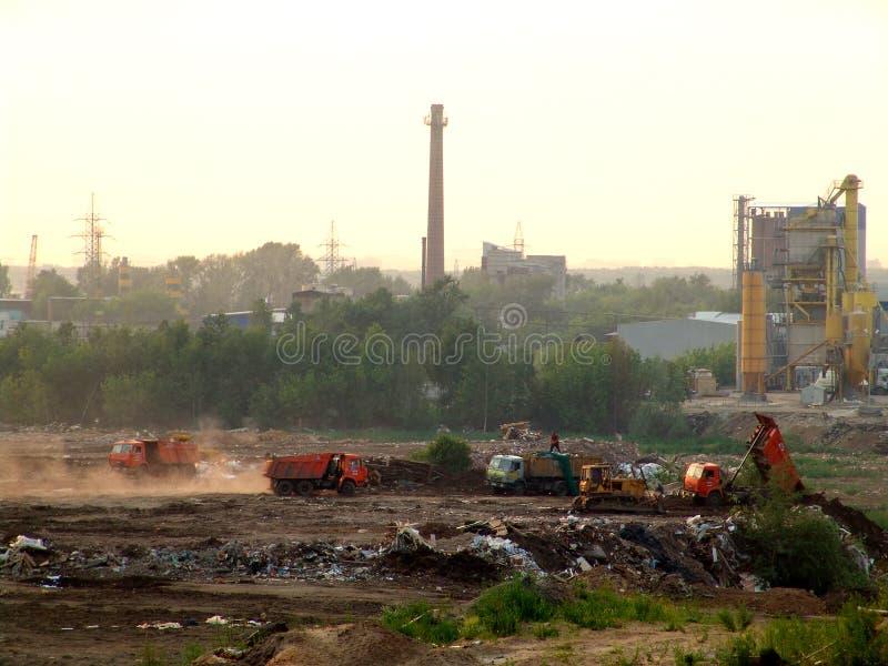 1 отход города стоковое фото rf