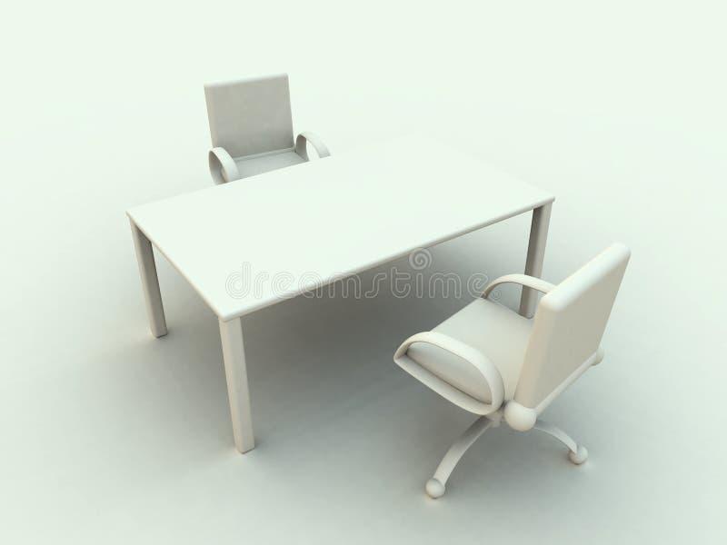 Download 1 офис мебели иллюстрация штока. иллюстрации насчитывающей место - 488475