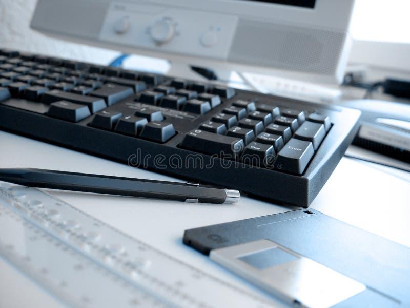 Download 1 офис плана стоковое фото. изображение насчитывающей компьютеры - 5728