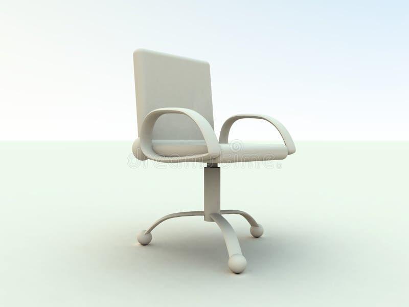 Download 1 офис стула иллюстрация штока. иллюстрации насчитывающей мебель - 488476