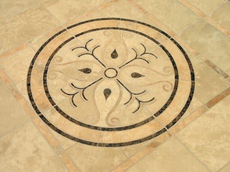 1 плитка роскоши inlay 9 декоров стоковое изображение rf