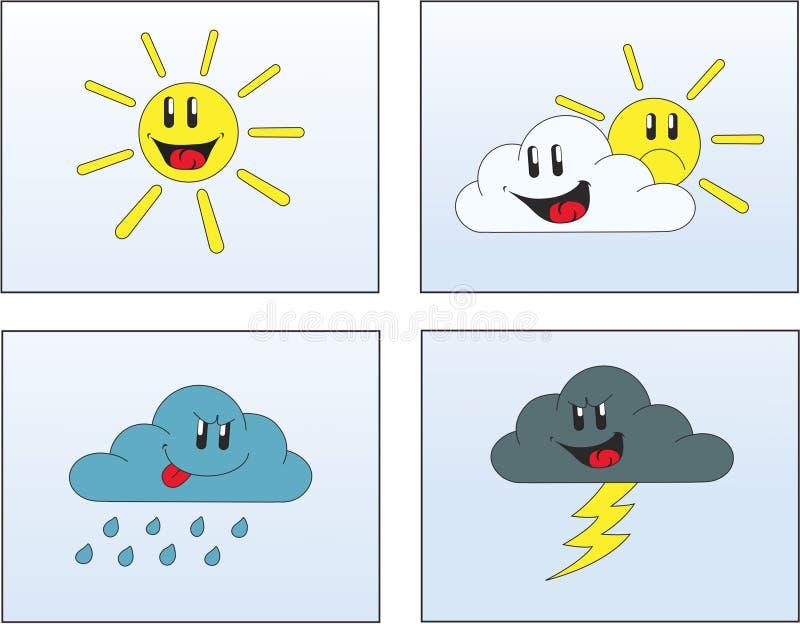 1 погода изображений иллюстрация штока