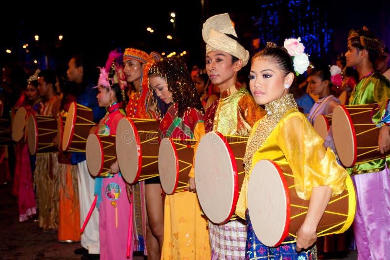 1 празднество Малайзия 2011 цвета стоковые фото