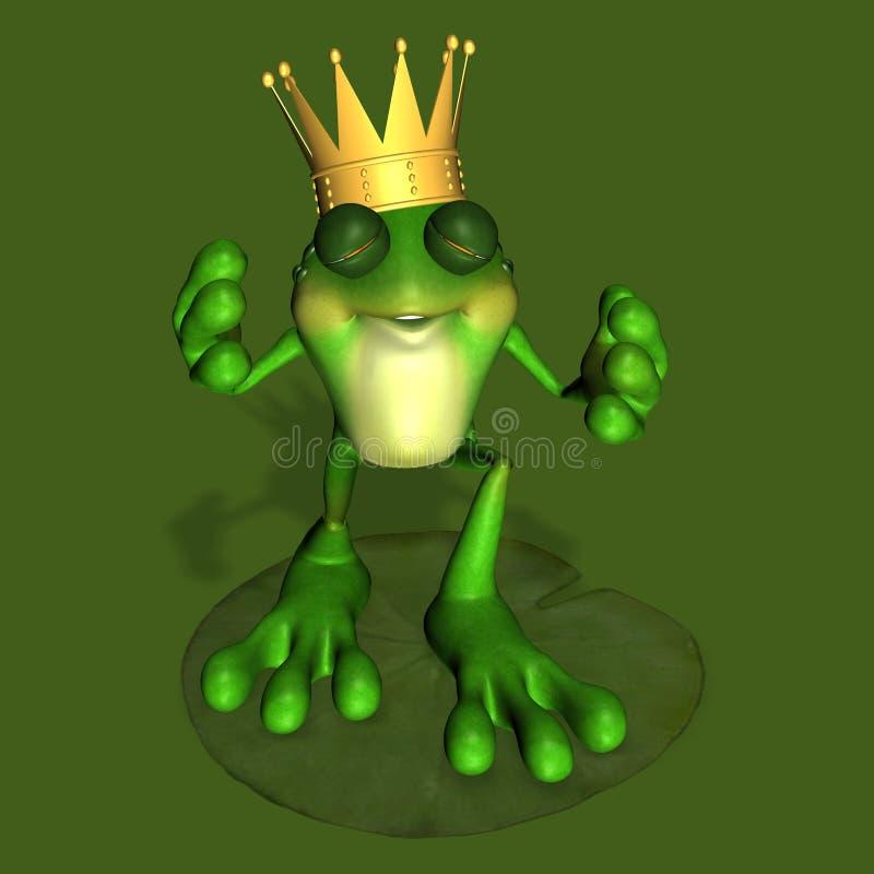 1 принц лягушки иллюстрация вектора