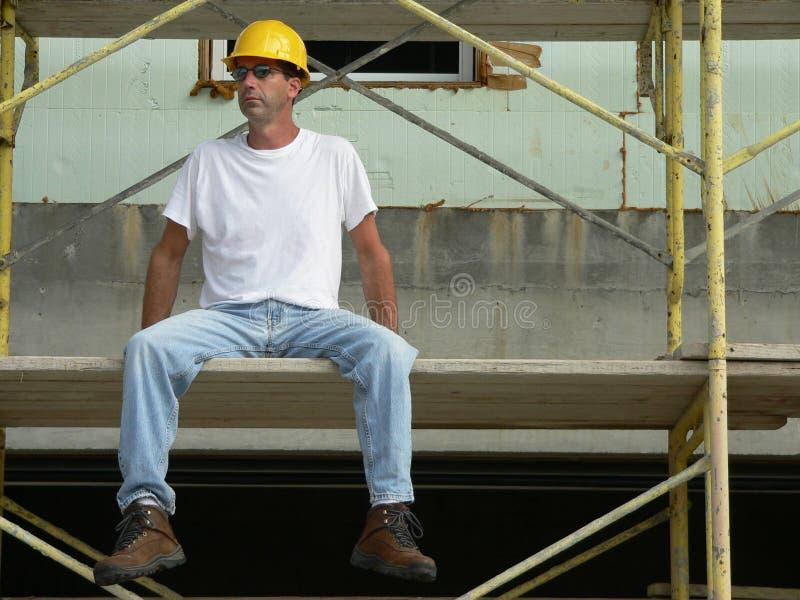 1 рабочий-строитель стоковые изображения
