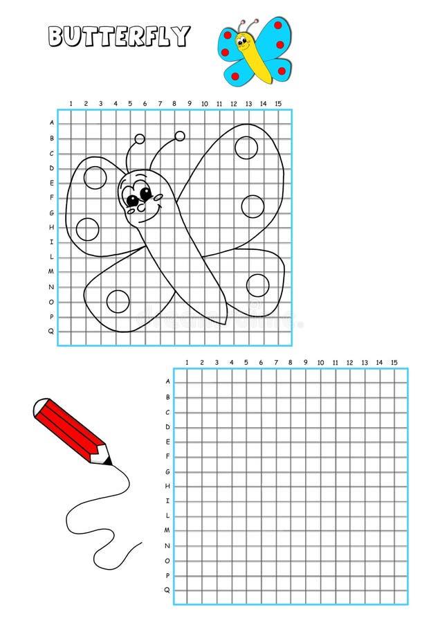 1 решетка расцветки книги иллюстрация штока