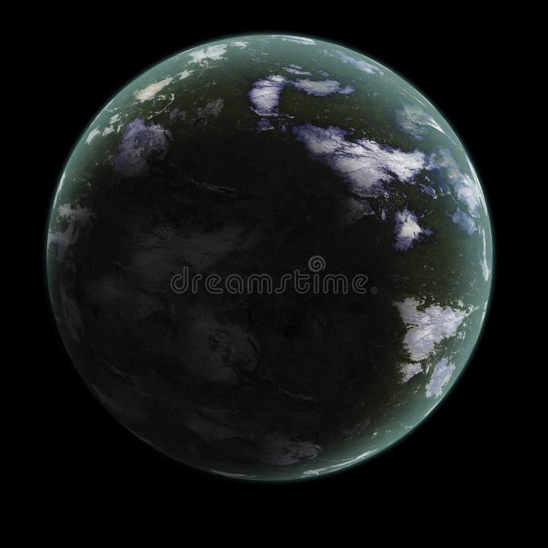 1 родовая планета стоковая фотография rf
