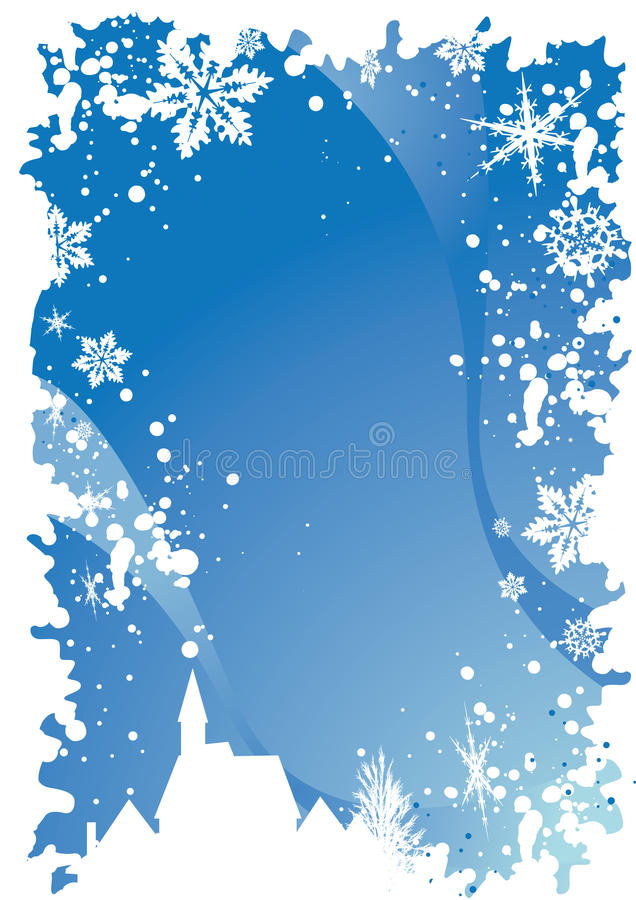 1 рождество граници иллюстрация штока