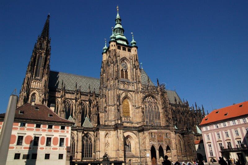 1 святой veit собора стоковое фото