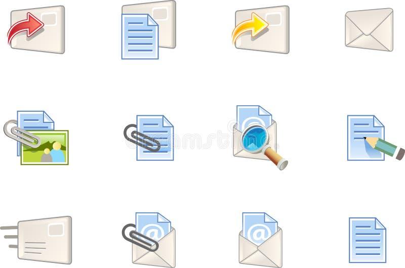 1 сеть varico серии икон иллюстрация вектора