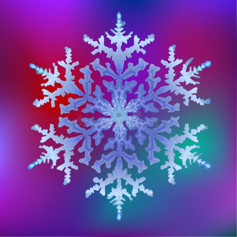 1 снежинка стоковые изображения