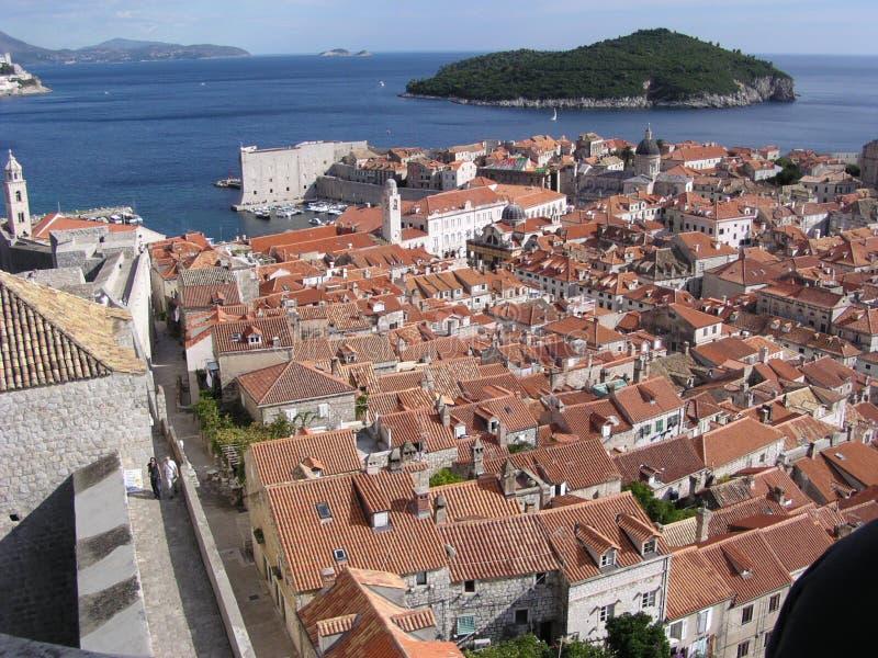 1 Хорватия dubrovnik стоковое фото rf