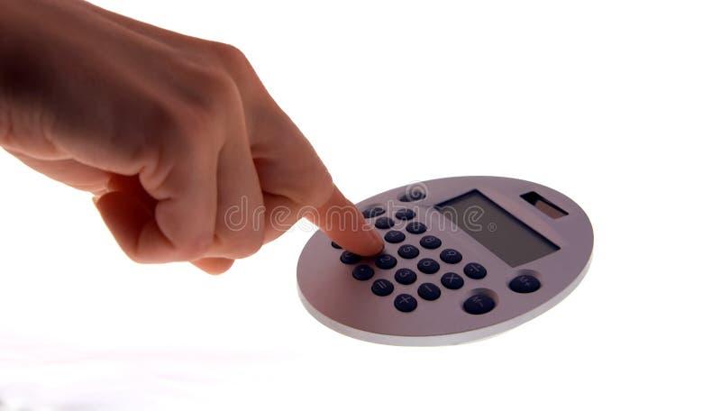 Download 1 чалькулятор стоковое фото. изображение насчитывающей математика - 1196556