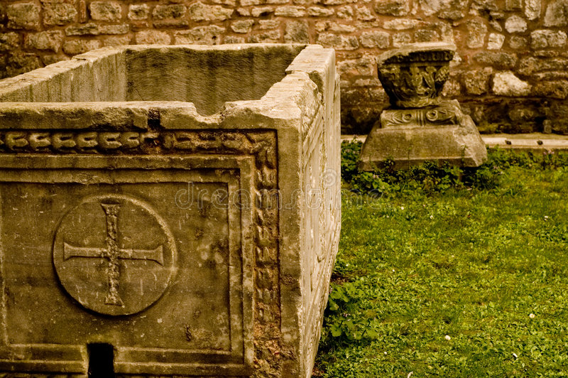 1.000 year old grave royalty free stock photo