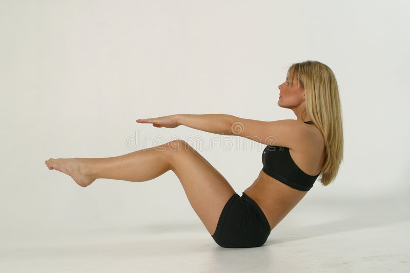 1 1b fitness model στοκ εικόνες