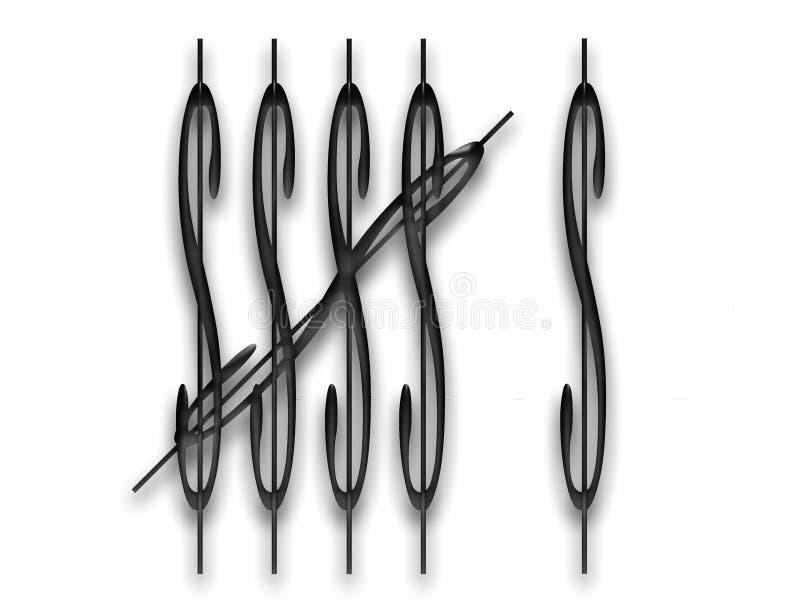 Download 1 2 3 4 5 6 Ed Ancora Contare Illustrazione di Stock - Illustrazione di contanti, segno: 204597