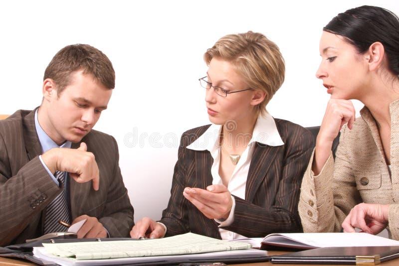 1 2 business man meeting woman στοκ φωτογραφία με δικαίωμα ελεύθερης χρήσης