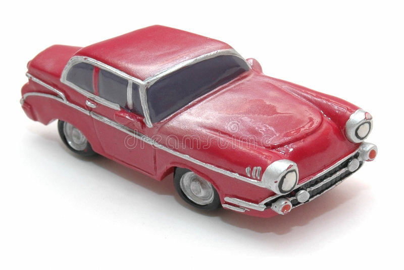 1个汽车玩具 库存照片