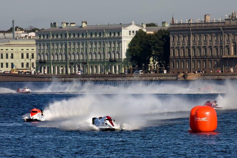 1 2009 mondes de hors-bord de formule de championnat images libres de droits