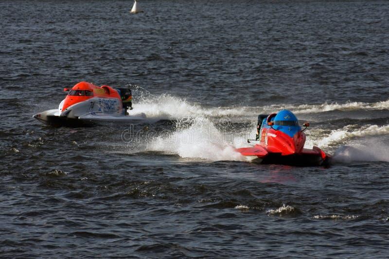 1 2009 mondes de hors-bord de formule de championnat images stock