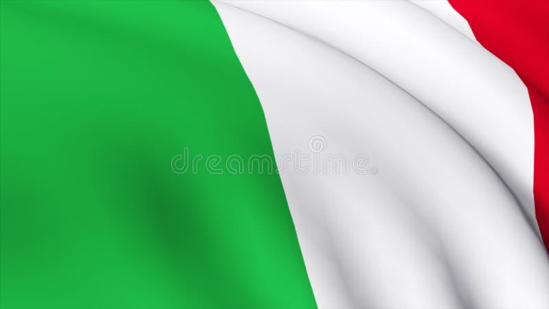 1 3d详细标志意大利语高度回报 皇族释放例证