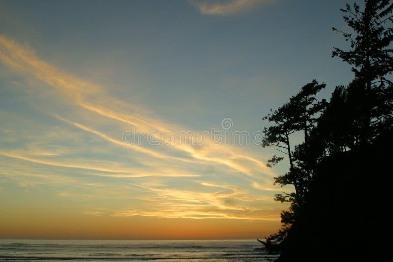 1 4 ακτή Όρεγκον στοκ φωτογραφίες