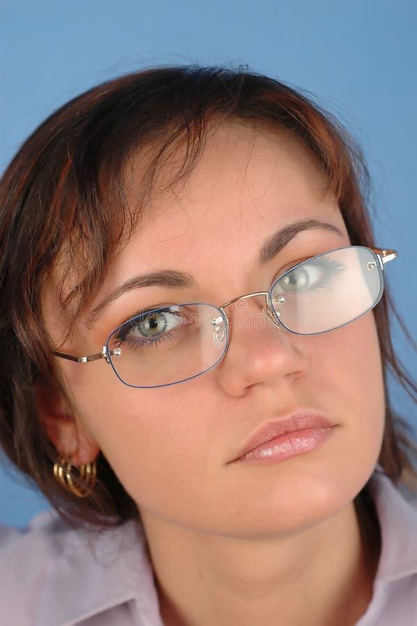 1 Affärskvinna Royaltyfri Fotografi