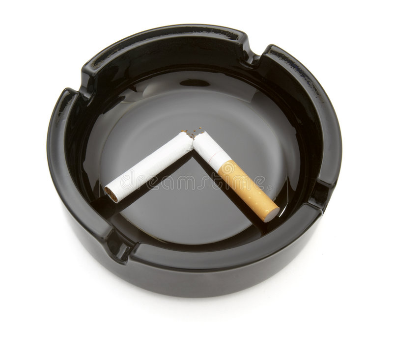 (1) ashtray obrazy stock