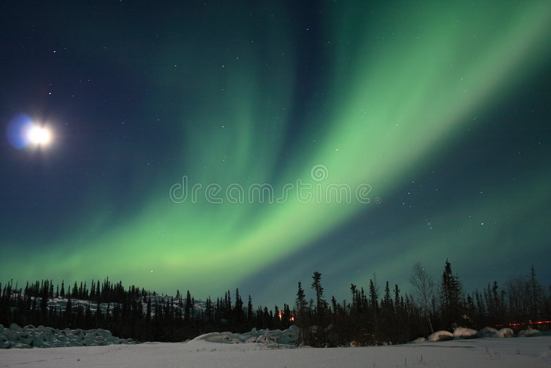1 aurory borealis zdjęcie royalty free
