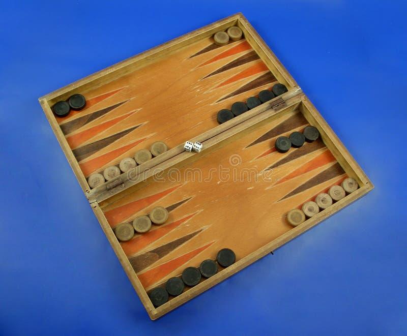 1 Backgammon Royaltyfri Foto